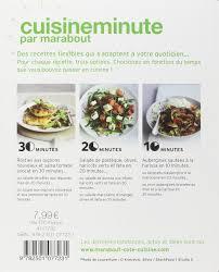 cuisine minute par marabout amazon fr cuisine minute petits plats vegetariens collectif