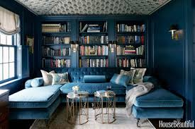 blue livingroom dark paint color rooms decorating with dark colors
