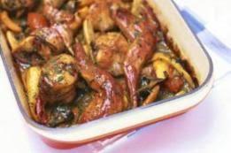 cuisiner lapin au four lapin aux carottes 1 recettes de lapin aux carottes