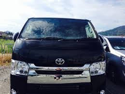 toyota hiace 2014 gallery pika pika rain professional car glass coating products