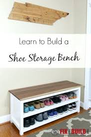 Ikea Entryway Bench Entryway Bench With Shoe Storage Entry And Hallway Ideas Within