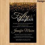 create own 50th birthday invitations free templates invitations