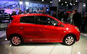 mitsubishi mirage hatchback 97 2014 mitsubishi mirage arriving in u s with 40 mpg combined