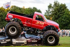 monster truck bigfoot youtube bigfoot crashing another car extreme bigfoot monster truck