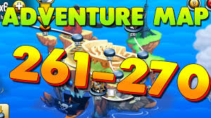 Adventure Map Monster Legends Adventure Map Level 261 To 270 Youtube