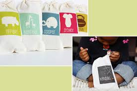 personalized favor bags personalized favor bags for a kids party at home with vallee
