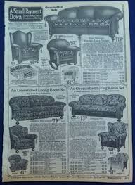 vintage sofas and chairs furniture sofas chairs stuffed wicker 1920s vintage antique wards