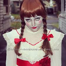 Creepy Doll Halloween Costume Creepy Annabelle Halloween Costume Halloween Costume Contest