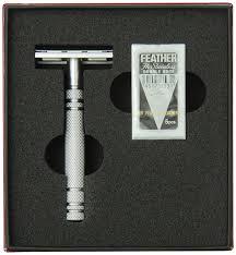 wireless shaving razor black friday amazon amazon com feather all stainless steel double edge razor model