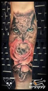skull and tattoos artists