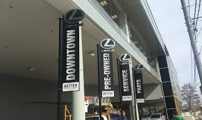 lexus downtown service t1 signs
