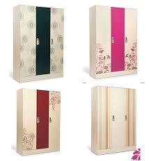 5 Door Wardrobe Bedroom Furniture Steel Flower Printing Wardrobe Steel Flower Printing Wardrobe