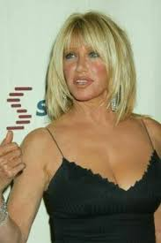 suzanne somers haircut how to cut suzanne somers medium straight casual hairstyle with layered bangs