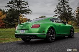 green bentley 2016 bentley continental gt v8s review doubleclutch ca