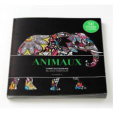Coloriage black premium Animaux  LAtelier de Lucie