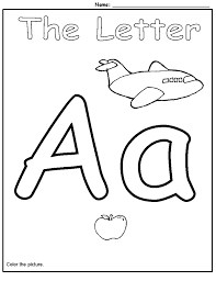alphabet worksheets for preschoolers activity shelter