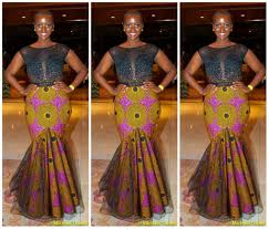 chagne wedding dress 11 ankara mermaid wedding dresses for guests afrocosmopolitan
