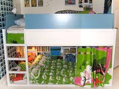 Ikea Toddler Bunk Bed How To Arrange The Ikea Kura Bunk Bed For 3 Kids Pretty Cool
