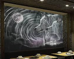 online get cheap wall mural wolf aliexpress com alibaba group custom 3d wallpapers for wall moonlight whirlpool wolf 3d wall mural wallpapers for living room modern