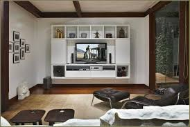 Flat Screen Tv Wall Cabinet With Doors Furniture Floating White Wooden Television Cabinets With Doors
