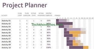 Excel Template Gantt Chart Free Free Gantt Chart Excel Template