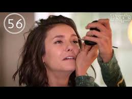 can nina dobrev go from no makeup to red carpet ready in 90 seconds
