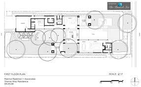 Floor Plan Of A Business by Vienna Way Residence U2013 Los Angeles Ca U2013 First Floor Plan The
