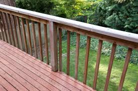 How To Build A Deck Handrail How To Modernize Your Deck By Installing Aluminum Balusters Home