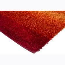 Red Round Rug Handwoven Red Orange Ombre Mandara Shag Rug 7 U00279 Round Free