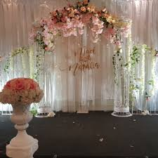 wedding backdrop name wedding rom solemization stage backdrop laser cut name blunting with