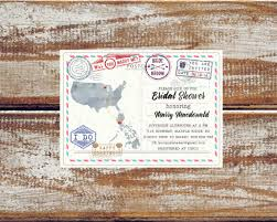 travel themed bridal shower travel bridal shower invitations decor ideas mid south
