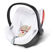 housse eponge siege auto bebe confort housse éponge siège auto d été pour aton q de cybex sur allobébé