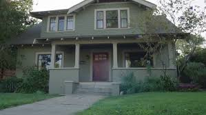 Two Story Craftsman by Day Low Angle Head Nice Two Story Craftsman House Wood House