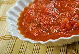 cuisine ottomane acili ezme vegetable seasoning ottoman cuisine stock