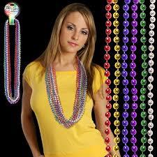 mardi gras beaded necklaces mardi gras necklace with your logo imprintlogo