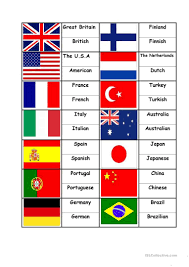 Wavin Flag Lyrics 76 Free Esl Flag Worksheets
