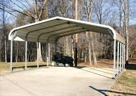 Steel Car Port 20 U0027 X 21 U0027 X 8 U0027 Steel Carport Garage Storage Building