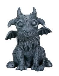 gargoyles amazon com baby goat gargoyle collectible figurine statue
