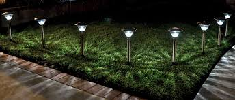 Solar Powered Landscaping Lights Homebrite Power By Solar