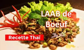 recette cuisine thailandaise traditionnelle la recette thailandaise du laab de boeuf allo thailande