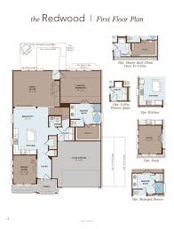 redwood home plan by gehan homes in hidden lakes premier