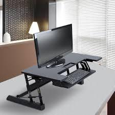 bureau informatique noir meuble informatique multimédia meuble de bureau maison et déco