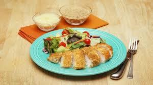 Chicken Main Dish - parmesan crusted chicken