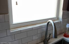 Kitchen Window Sill Decorating Ideas by Tile Tiles For Window Sills Decorating Ideas Creative With Tiles