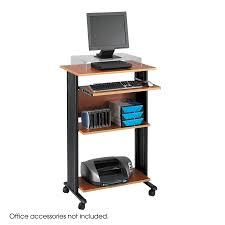 Adjustable Height Computer Desk Workstation by Muv Stand Up Desk Safco Products