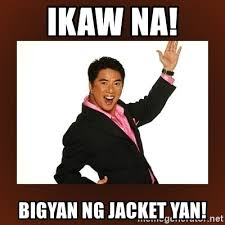 Ikaw Na Meme - ikaw na bigyan ng jacket yan bigyan ng jacket meme generator