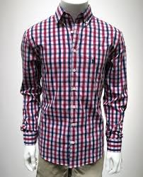 johnnie o sigep button down red plaid official sigep store