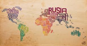 download stock photos of decorative world map on old paper to with