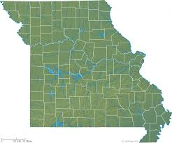 missouri map images missouri physical map and missouri topographic map