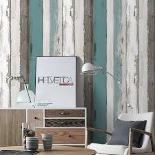 peel and stick wallpaper haokhome wood panel peel and stick wallpaper blue black off white